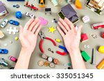 a lot of things | Shutterstock . vector #335051345