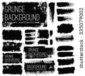 grunge  vintage halftone vector ... | Shutterstock .eps vector #335079002