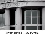 Courthouse - stock photo