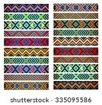 beading design  tribal design ... | Shutterstock .eps vector #335095586