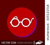 glasses icon | Shutterstock .eps vector #335121518