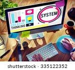 system engine mechanical... | Shutterstock . vector #335122352