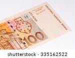 100 Croatian Kunas Bank Note....
