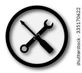 tools icon. internet button on... | Shutterstock . vector #335170622