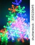 festive christmas background  ... | Shutterstock . vector #335220695