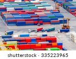 view of the cargo port and... | Shutterstock . vector #335223965