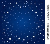 vector background. starry night ... | Shutterstock .eps vector #335224808