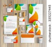 white creative corporate...   Shutterstock .eps vector #335227445