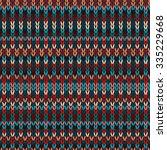 seamless ethnic geometric...   Shutterstock . vector #335229668