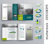 business brochure template... | Shutterstock .eps vector #335238395