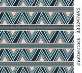chevron seamless pattern... | Shutterstock .eps vector #335247692