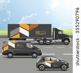 classic black transport... | Shutterstock .eps vector #335290796