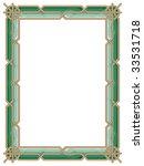 ornamental  border frame....   Shutterstock .eps vector #33531718