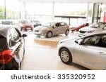 view of row new car at new car... | Shutterstock . vector #335320952