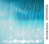 rain illustration   Shutterstock .eps vector #335359016