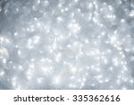 christmas and new year snowy... | Shutterstock . vector #335362616