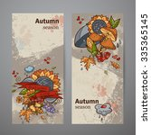 set vertical banners of colored ... | Shutterstock . vector #335365145
