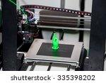 working 3d printer close up... | Shutterstock . vector #335398202