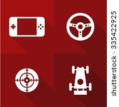 vector flat icons   games