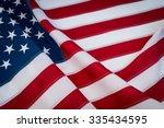 american flag | Shutterstock . vector #335434595