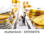 marriage and money | Shutterstock . vector #335436476