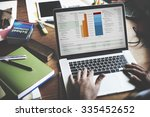 working finance statistical... | Shutterstock . vector #335452652