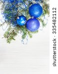 christmas greeting card  ... | Shutterstock . vector #335482112