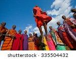 kenya  masai mara   july 19 ... | Shutterstock . vector #335504432