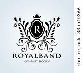 royal brand logo crest logo... | Shutterstock .eps vector #335510366
