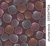 seashell background. abstract... | Shutterstock .eps vector #335547926