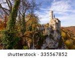 lichtenstein castle  germany | Shutterstock . vector #335567852