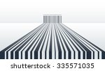abstract barcode wallaper with... | Shutterstock .eps vector #335571035