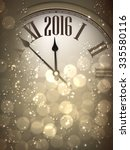 2016 New Year Sepia Background...