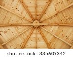 Gazebo Wooden Ceiling