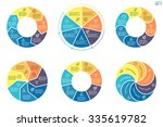 infographics with colored... | Shutterstock .eps vector #335619782