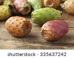 Fresh Ripe Whole Prickly Pears