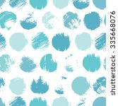 vector seamless pattern.... | Shutterstock .eps vector #335668076