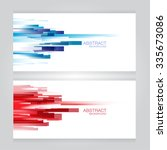 Vector Set Of Two Banners...