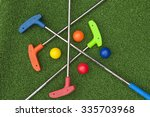 Four Mini Golf Putters And...