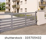 automatic gate | Shutterstock . vector #335705432