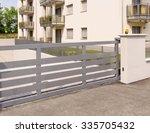 automatic gate | Shutterstock . vector #335705432