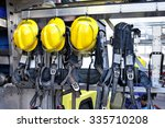 Yellow Hat Of Fireman  Standby...
