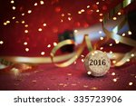 champagne christmas and new... | Shutterstock . vector #335723906