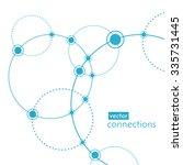vector technology concept.... | Shutterstock .eps vector #335731445