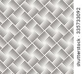 seamless pattern of lines in... | Shutterstock . vector #335733092