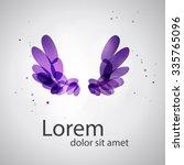 abstract bird logo. abstract...   Shutterstock .eps vector #335765096
