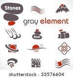vector abstract design elements.... | Shutterstock .eps vector #33576604