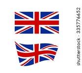 flag of the united kingdom of... | Shutterstock .eps vector #335776652