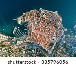 Aerial View Of Old City Of...