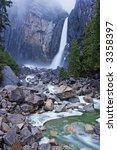 lower yosemite falls | Shutterstock . vector #3358397